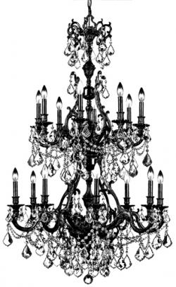 Chandelier clipart transparent