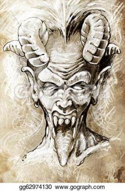 Demon clipart gothic