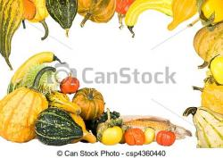 Gourd clipart border