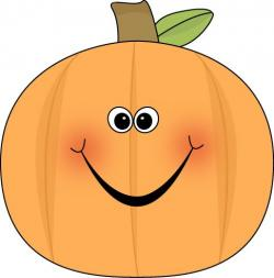 Smiley clipart pumpkin