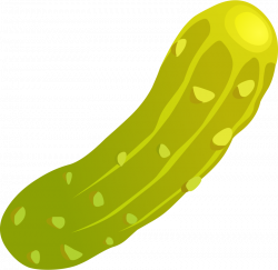 Cucumber clipart dill pickle