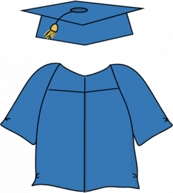 Uniform clipart graduation