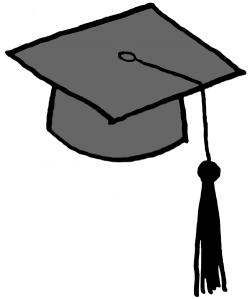 Misc clipart graduation cap