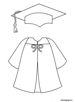 Capped clipart preschool graduation