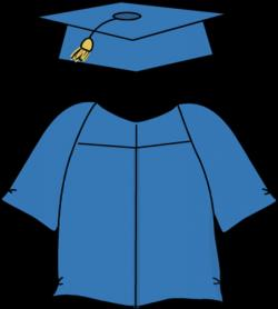 Gown clipart graduation gown