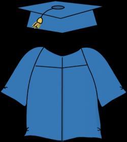 Gown clipart graduation gown