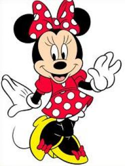 Mini clipart minnie mouse dress