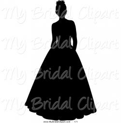 White Dress clipart stand