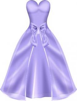 Gown clipart violet