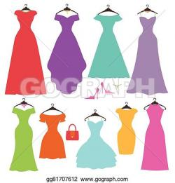 Gown clipart womens dress