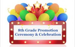 Celebration clipart 8th grade