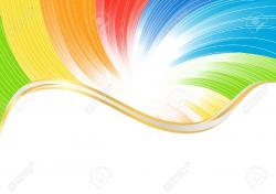 Colors clipart abstract