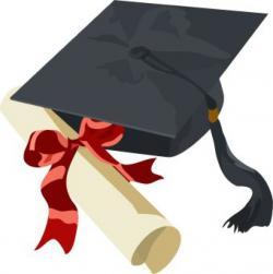 Graduation clipart coat