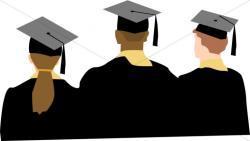 Ceremony clipart college graduate