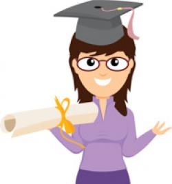 Capped clipart kindergarten graduation
