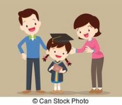 Graduation clipart parent clipart
