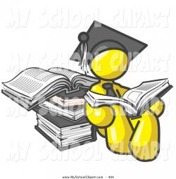 Graduation clipart successful student