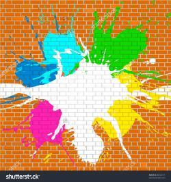 Graffiti clipart Graffiti Brick Wall Clipart