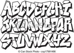 Typeface clipart drawing