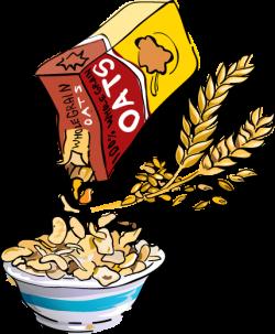 Oatmeal clipart plain