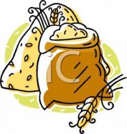 Rice clipart wheat bag