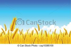 Grains clipart wheat farm