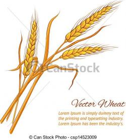 Grains clipart wheat straw