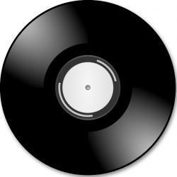 Record Player clipart disc