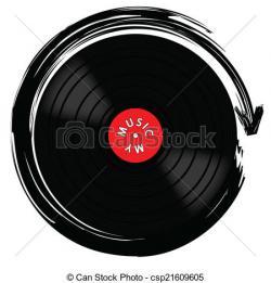 Gramophone clipart vinyl