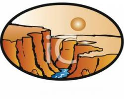 Grand Canyon clipart cartoon