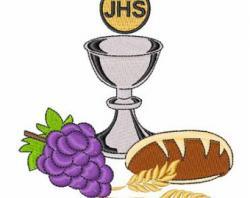 Grapes clipart communion chalice
