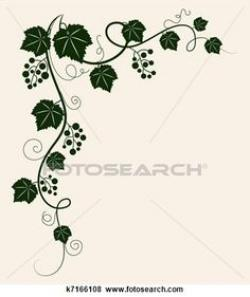Mediterranean clipart grape leaves