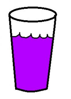 Kool-Aid clipart purple
