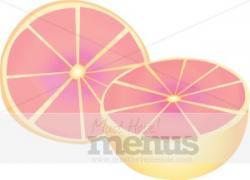 Grapefruit clipart large