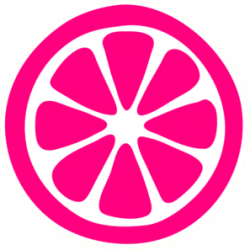 Grapefruit clipart sliced