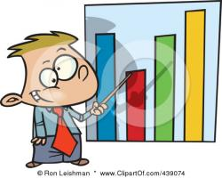 Graph clipart cartoon