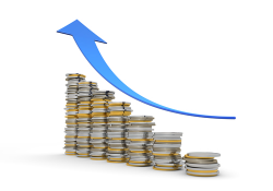 Rate clipart economic growth