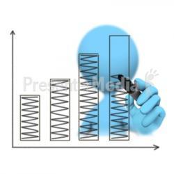 Graph clipart figure