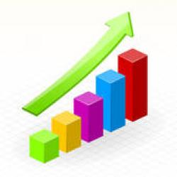 Graph clipart growth chart
