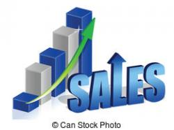 Graph clipart increase sale