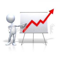Graph clipart presentation