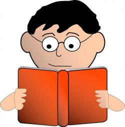Graph clipart reading a