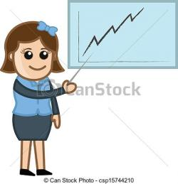 Graph clipart teacher
