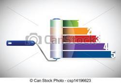 Graph clipart vector design