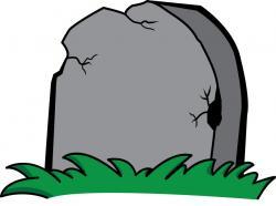 Cenetery clipart headstone