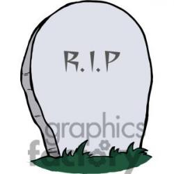 Gravestone clipart animated