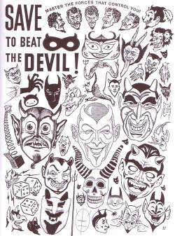 Devil clipart skull