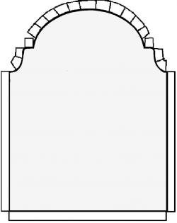 Headstone clipart template