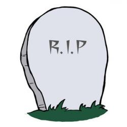 Grave clipart cartoon