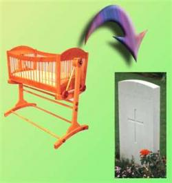 Grave clipart cradle to